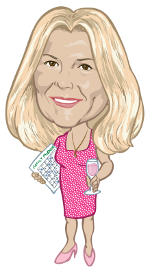 Caricature of  Natalie Trumper